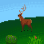 Lowres deer by Goldsaw