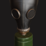 Russian Gas Mask (GP-5) by Carr77