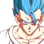 Gohan Super Sayian Blue by Zeno-Sensie