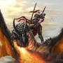Dragon Rider by DikkiDirt