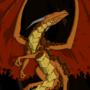 Volcano Dragon by XantyLeger