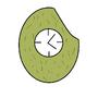 Jackfruit Clock by btk1977