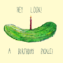 Birthday Pickle by GoldenYakStudio