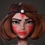 Princess Mononoke - Speed sculpt Episode 12 by mccabe86
