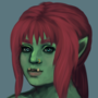 (Half)Orc by Goldsaw