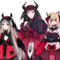 Mooshed together