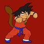 Kid Goku by Ardhamon
