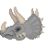 Triceratops by Goldsaw
