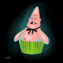 Pinhead Larry Cupcake by Singularitor
