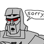Things Megatron is bad at. by tonyfamous