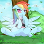 Rainbow dash color by MFC-CFJ