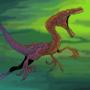 Crazy Raptor by fabianlpineda