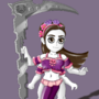 Goddess of Death (Chibi) by Matpneumatos