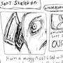 Soft Skeleton: Music Zine submission by linda-mota
