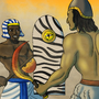Egyptian Versus Sumerian by BrandonP