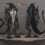 Arthraax character reference sheet