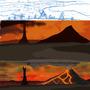 Landscape progress for COTMLOTH jazza studios by UncleFrogface