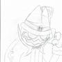 Mr. Smiles (Sketch) by G-Noe