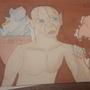 Gollum vs Dobby by GioLegre