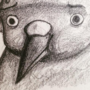 Worried Bird is Worried by Kaishu