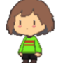 Mini sprite - Chara ( Undertale ) by ProjectNetoku