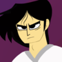 Samurai Jack with his hair messed up by IvoAluminum