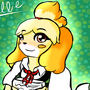Isabelle ACNL by JellyFloof