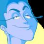 Blue Lady by Rikert