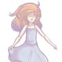 Running girl by Zomdie-Kitten