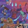 Street Fighter Vs Darkstalkers by fabianlpineda