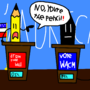 donald pencil vs. wacm clinton by Haackermatt1234