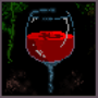 RedWineGlass by ColdPizzaSunrise