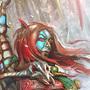 Blood Snow Elf by InsolentMinx