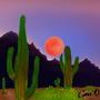 Arizona landscape by Courtdoesart
