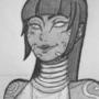 Tanya [Mortal Kombat sketch] by Kalloway