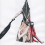 Pyramid Head 1 by Zombie-clock-monkey