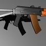 AKS 74u WiP by mmankt
