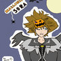 Halloween Town Sora (Colour) by BatdanTheDarkKnight