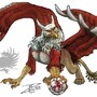 Soccer Gryphon 1 of 3 by BlackUniGryphon
