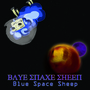 blue space sheep by TheL1st