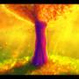 Autumn tree by Stellarian