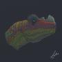 Seratosaurus by fabianlpineda