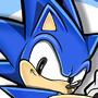 SC Classic Sonic by NE-O-N