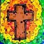 Rainbow Cross by BeKoe