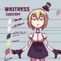 waitress concept by mattmattymattymatt