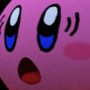 Kirb Running from A Russian Waddle Dee by BigRiver590a