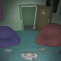 Dead Kidz Sam's Room Background Art