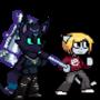 Kaiya and Cynric by Cethic