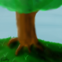 Tree on a Hill by SketchyAtom