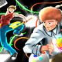 Jazza vs Bob Ross play fight in Dark Abyss - b-tradigital by OliviaHester